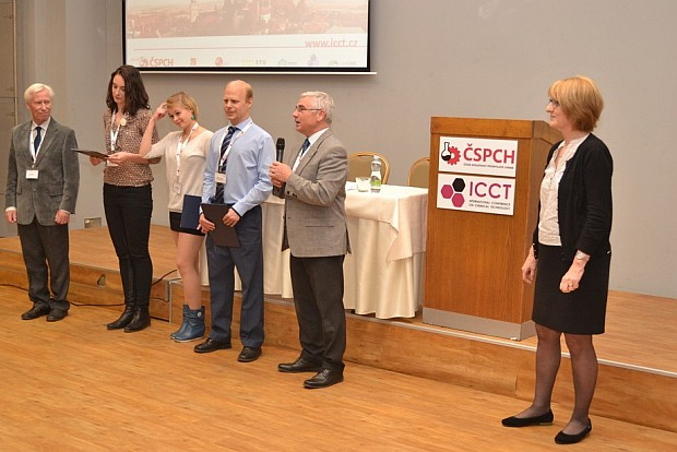 Award at the ICCT Conference